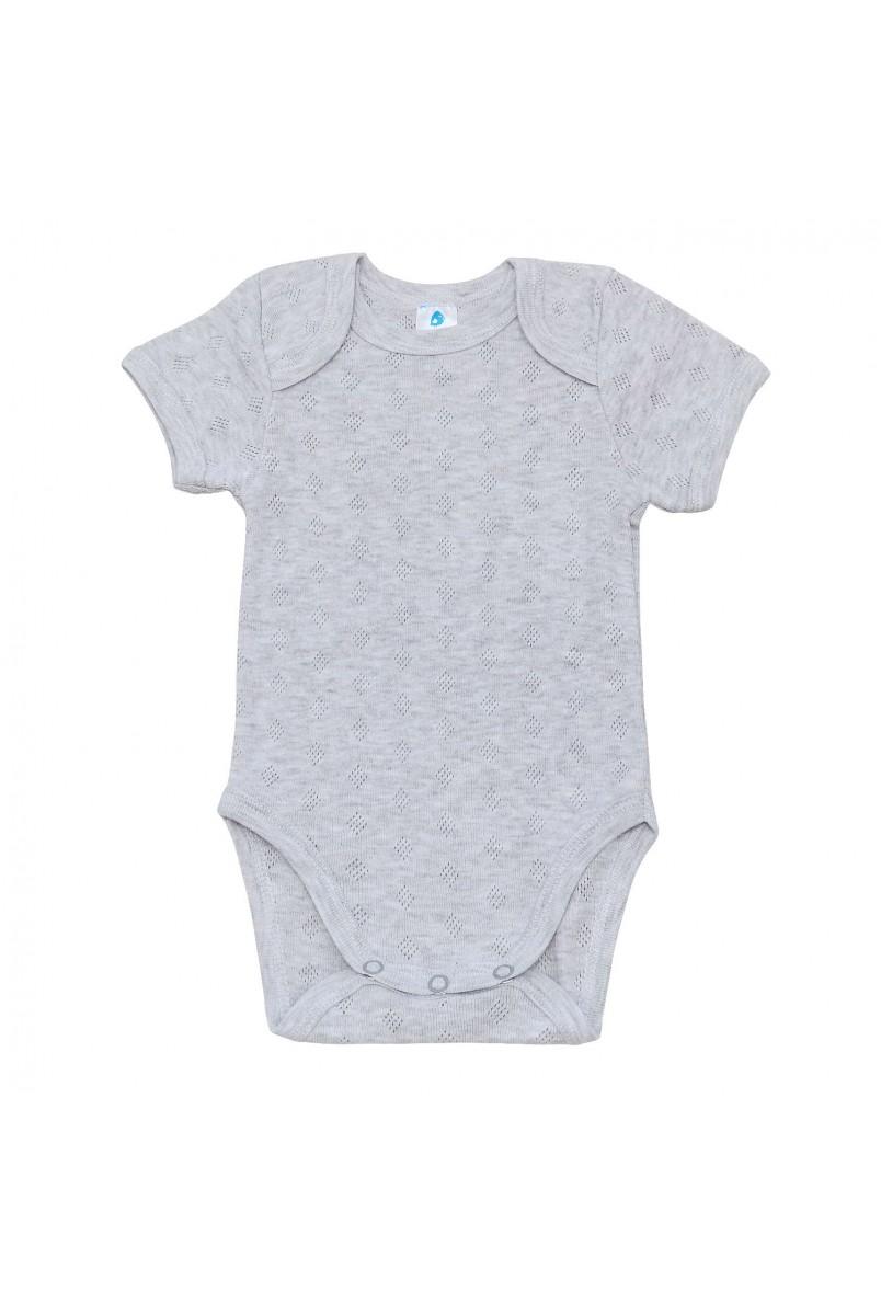 Боди для детей Minikin арт. 212505 серый/меланж