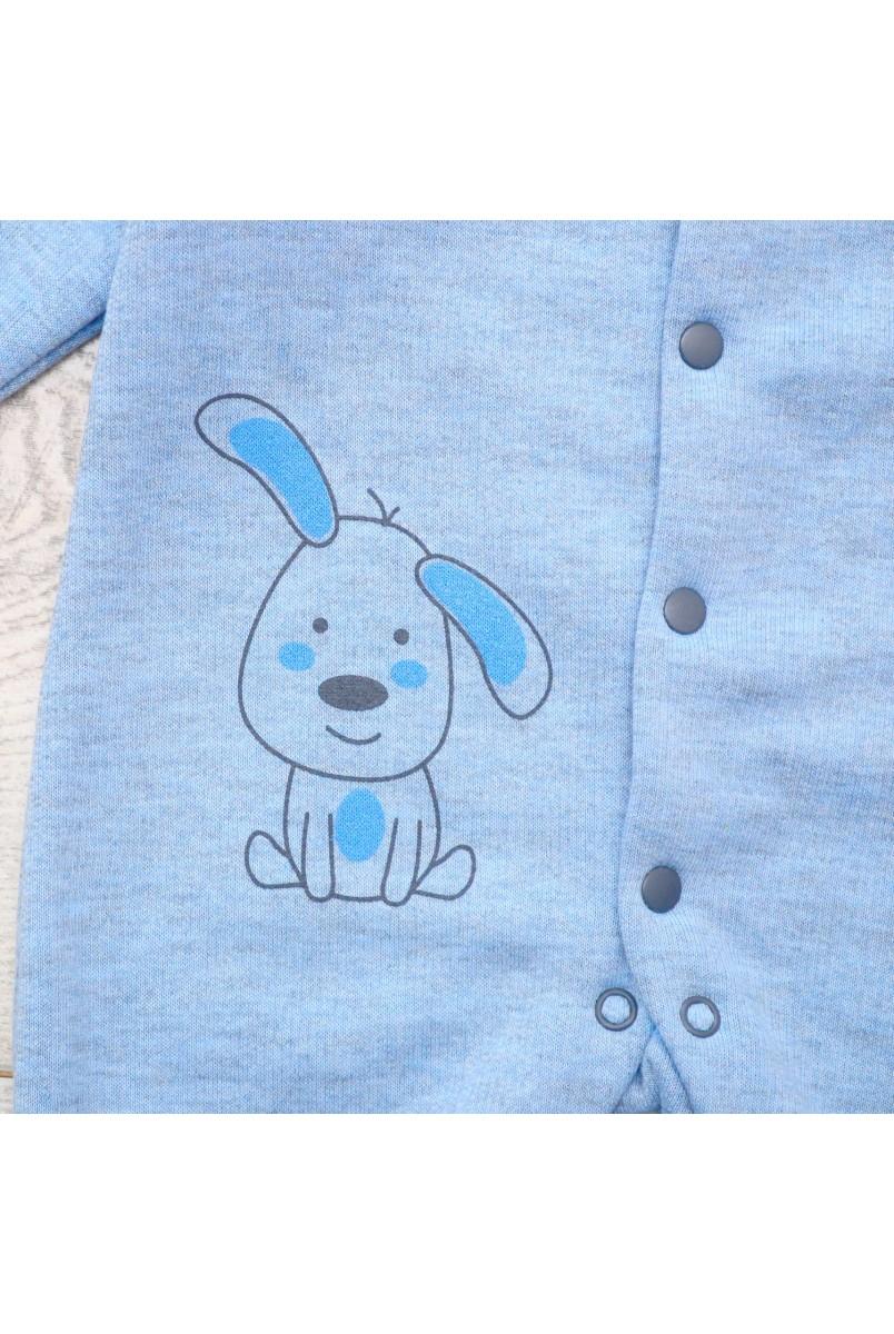 Комбінезон арт. 2012113 синій / сірий