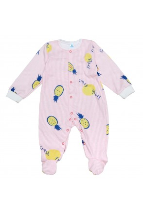 Комбинезон для детей Minikin арт. 2010703 розовый/полоска