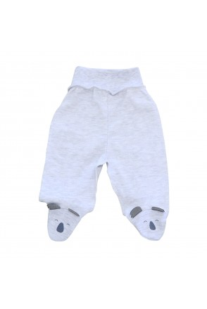 Ползунки для детей Minikin арт. 215203 серый меланж