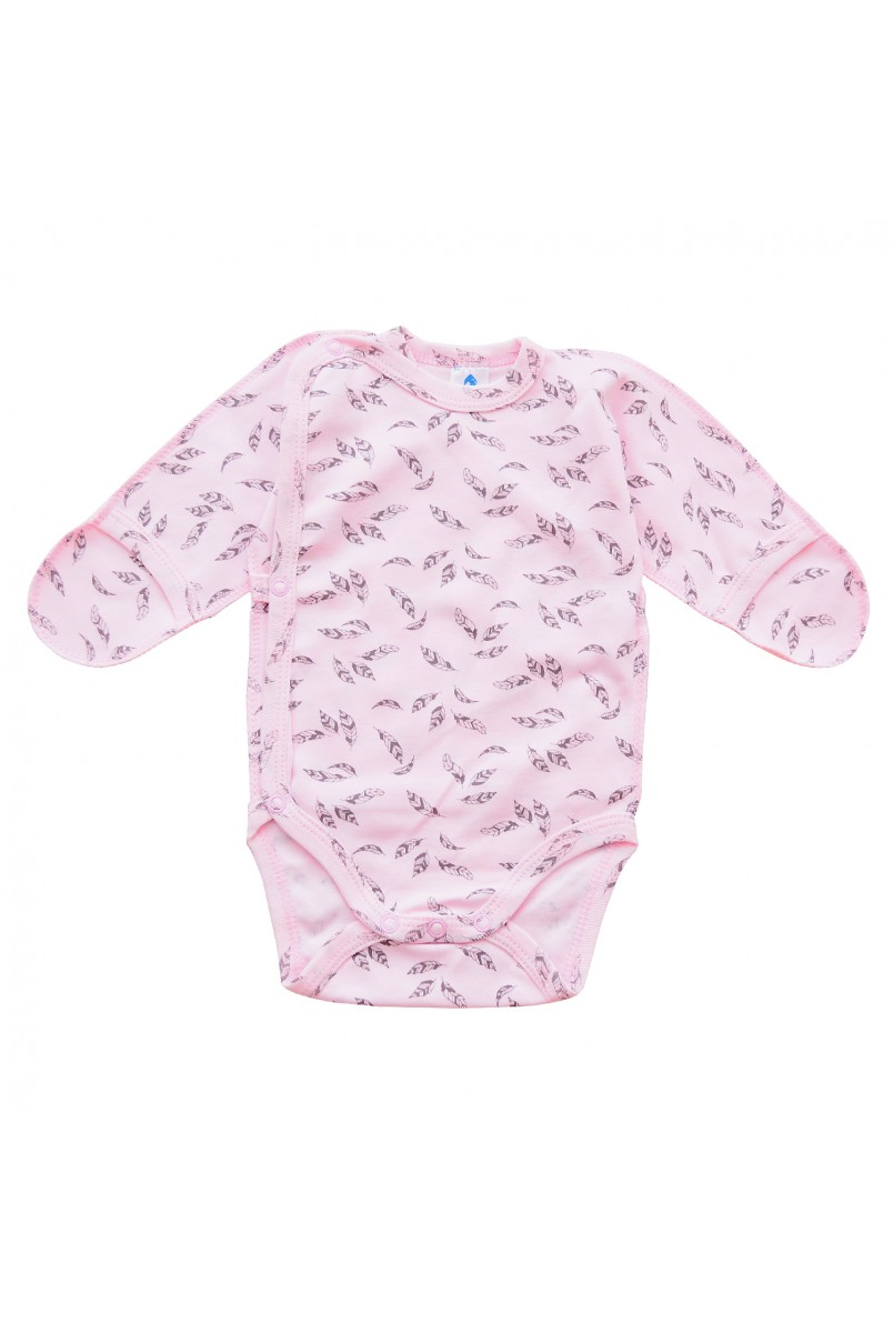 Боди для детей Minikin арт. 00503 розовый/серый