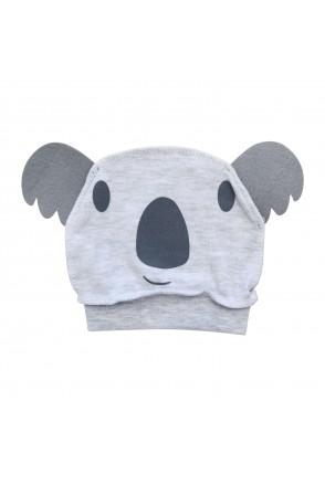 Шапочка для детей Minikin арт. 215603 серый меланж