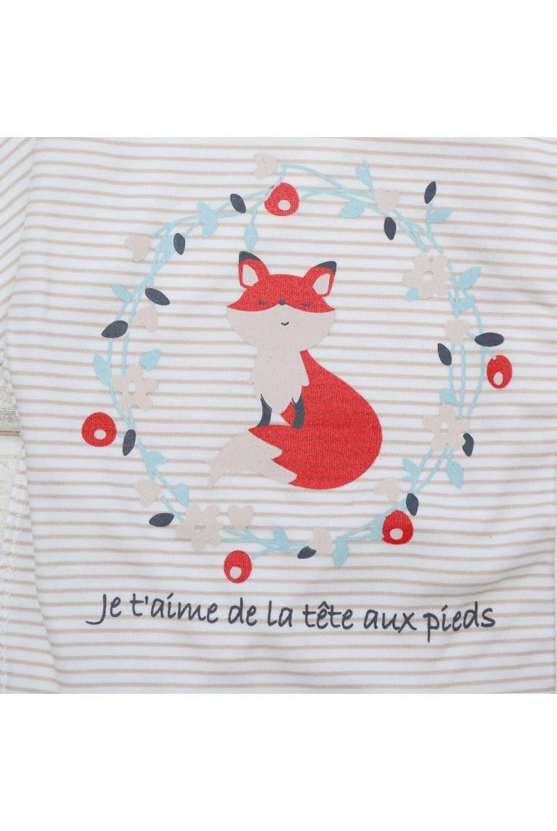 Боді для дітей Minikin арт. 204103 смуга/молочний