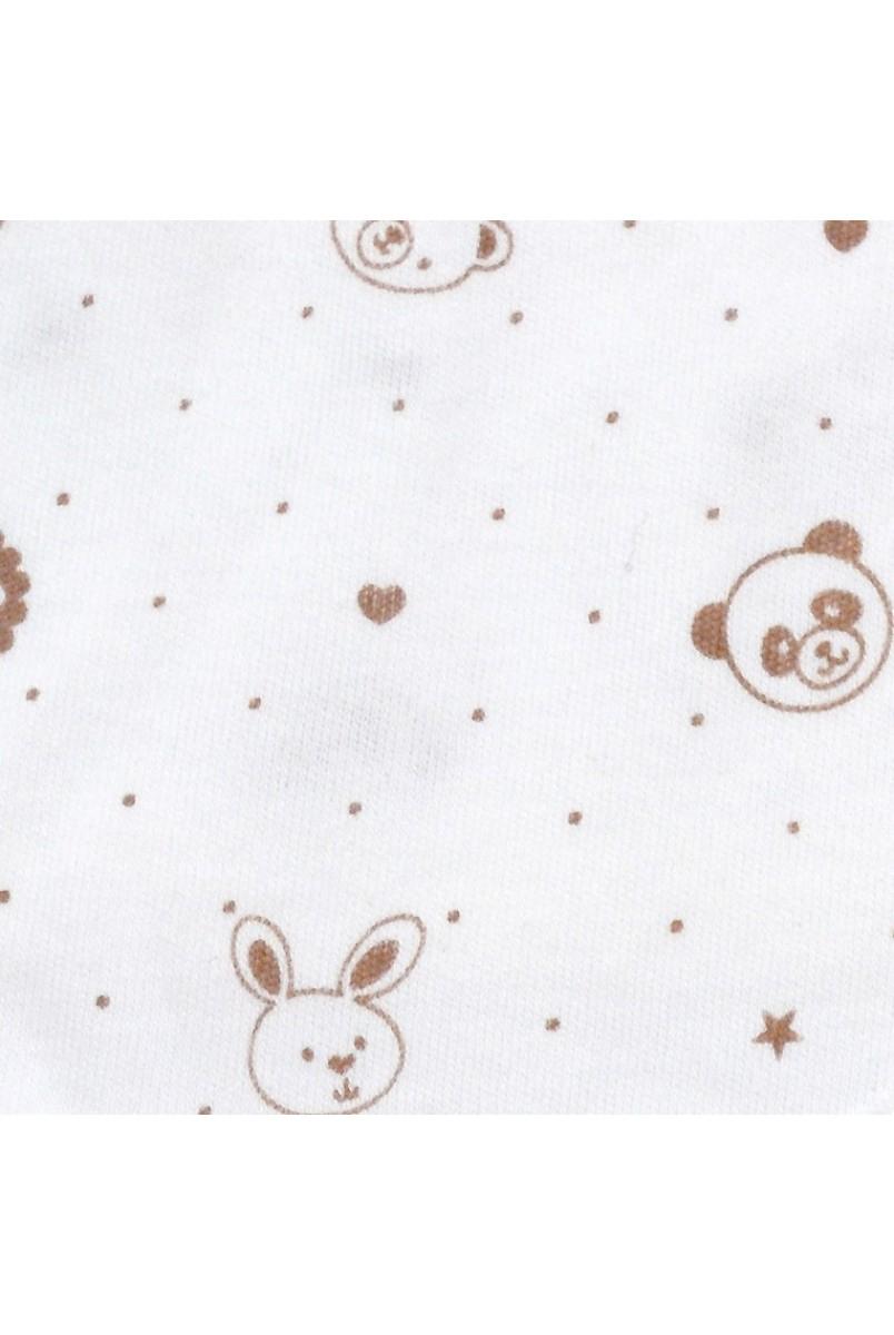 Ползунки для детей Minikin арт. 00203 молочный/кофейный