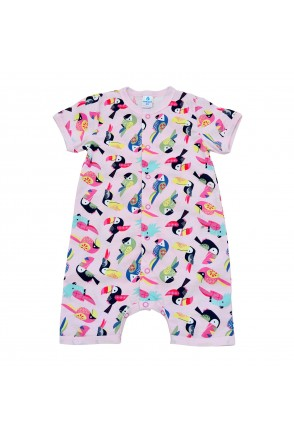 Напівкомбінезон дитячий Minikin 213302 рожевий