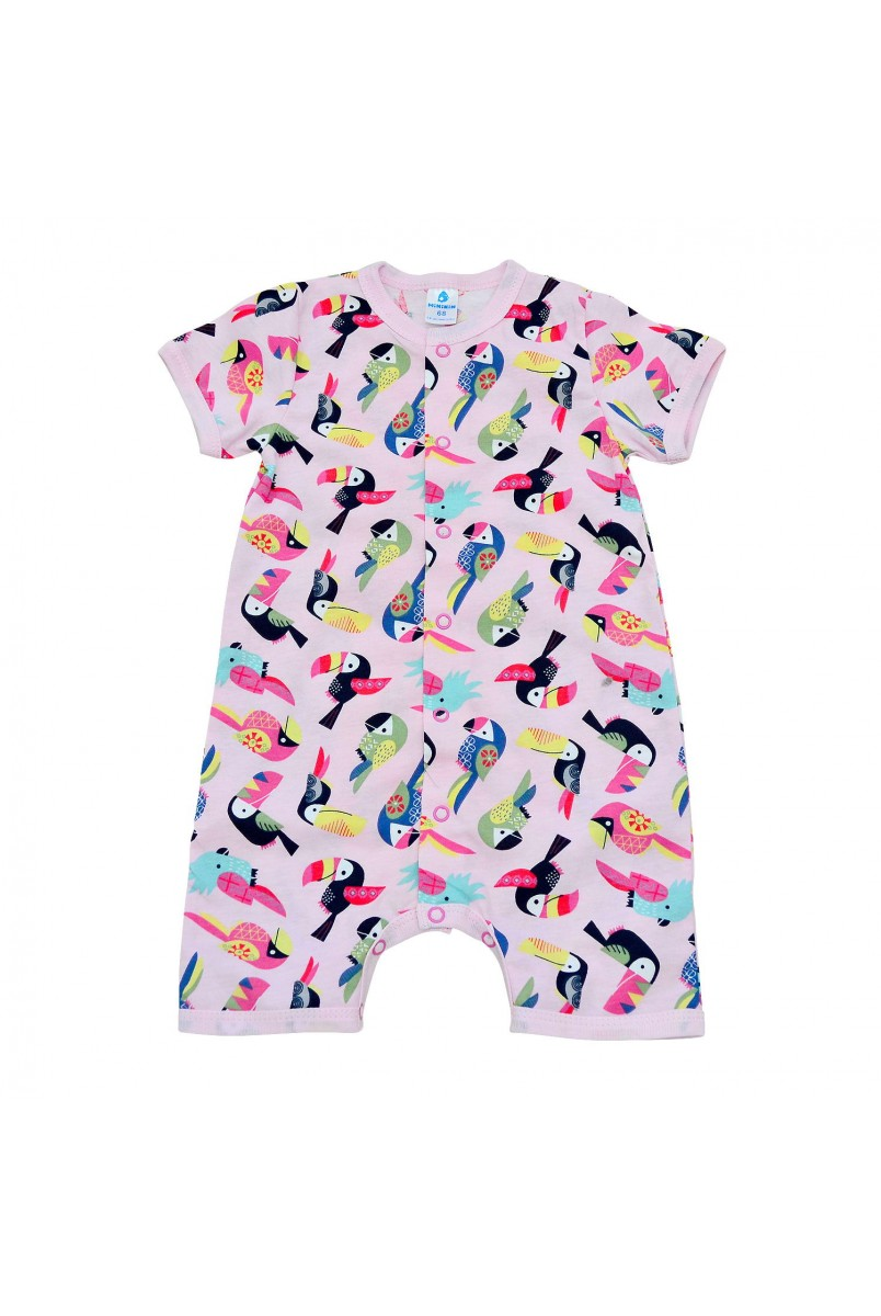 Полукомбинезон детский Minikin 213302 розовый