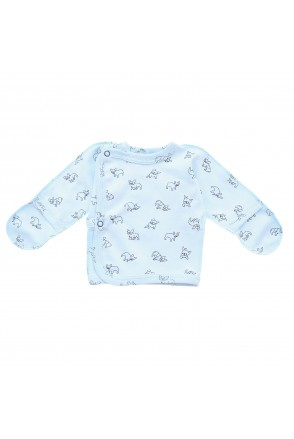 Распашонка для детей Minikin арт. 00803 голубой собачка