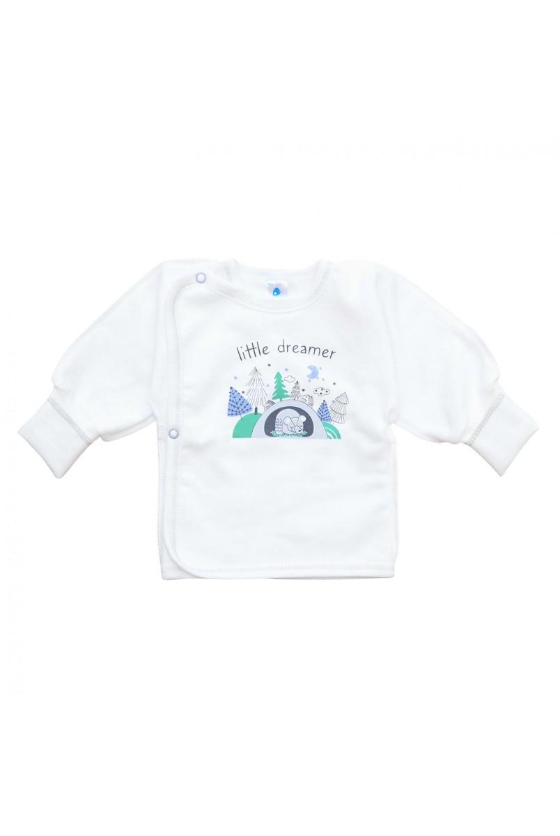 Сорочечка арт. 2014301 молочний тваринки