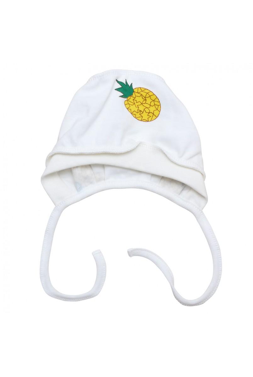 Шапочка чепчик для детей Minikin арт. 208903 молочный желтый
