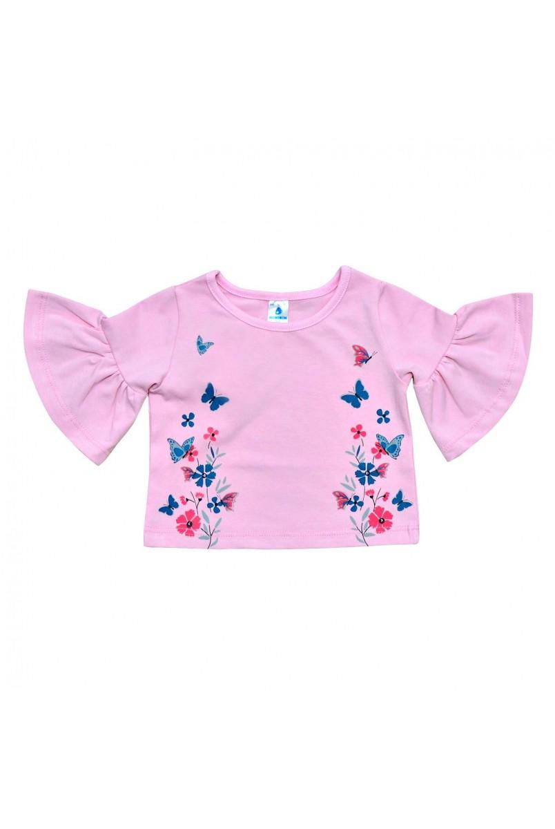 Футболка для детей Minikin арт. 203702 розовый