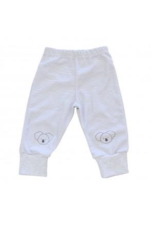 Штаны для детей Minikin арт. 214903 серый полоска