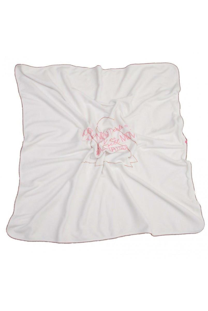 Плед арт. 16100204 90x90 білий