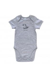 Боди для детей Minikin арт. 214002 серый/меланж