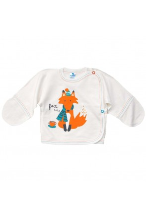 Распашонка для детей Minikin арт. 16106001 молочный