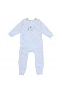 Комбінезон для дітей Minikin арт. 215803 сірий меланж