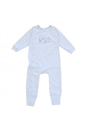 Комбинезон для детей Minikin арт. 215803 серый меланж