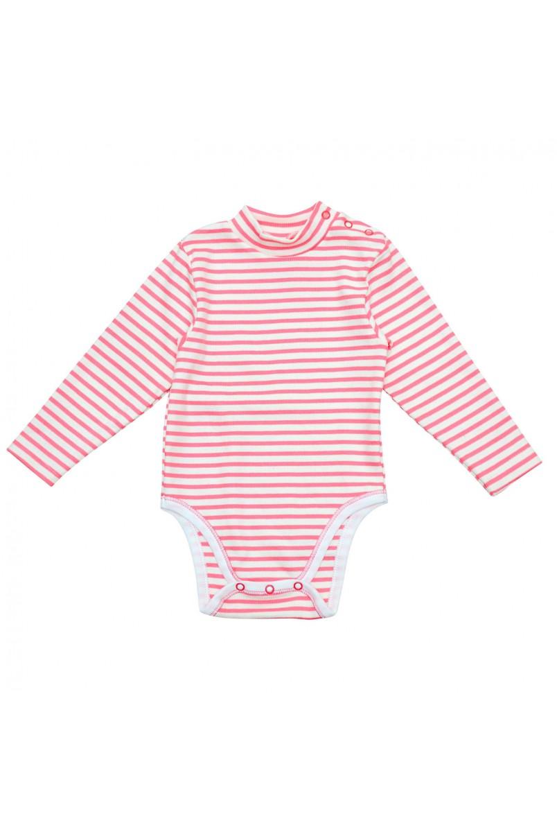 Боді-гольф для дітей Minikin арт. 2015803 молочний/рожевий