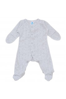 Детский комбинезон Minikin арт. 2112905 серый/меланж