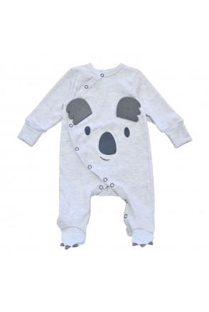 Комбинезон для детей Minikin арт. 215403 серый меланж