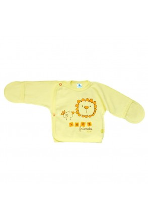 Распашонка для детей Minikin арт. 16104001 желтый