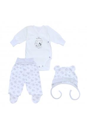 Комплект для детей Minikin арт. 214803 белый/серый