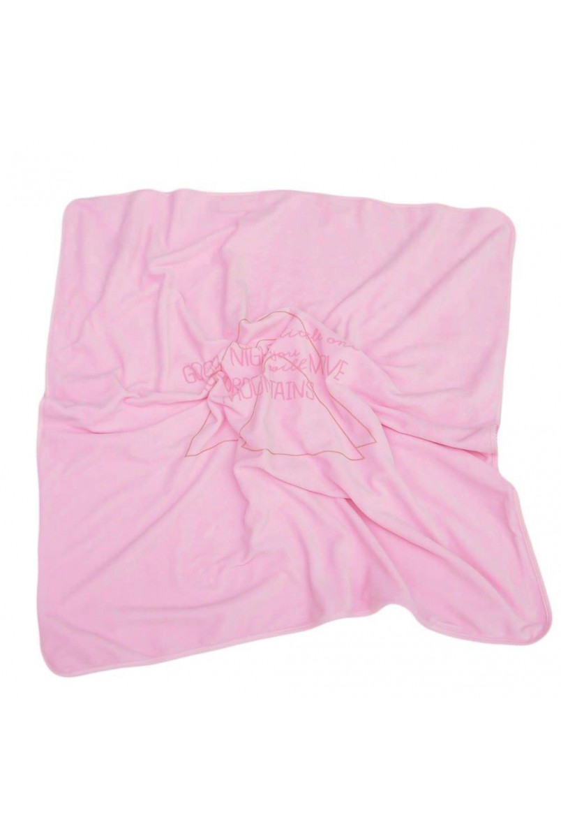 Плед арт. 16100204 90x90 рожевий