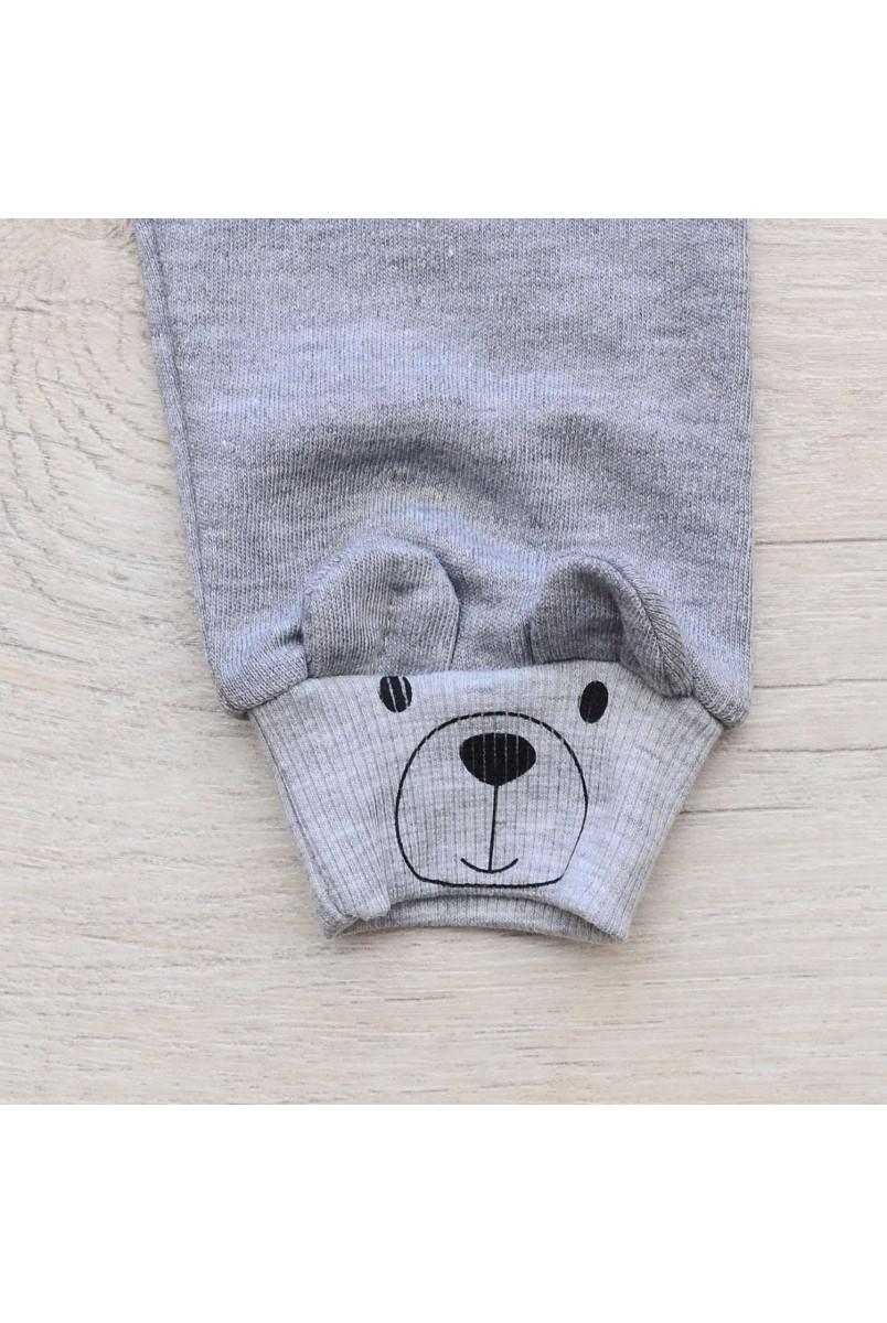 Штаны для детей Minikin арт. 207203 серый меланж