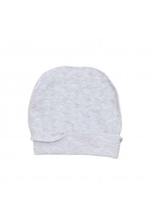 Шапочка для детей Minikin арт. 2112805 серый меланж