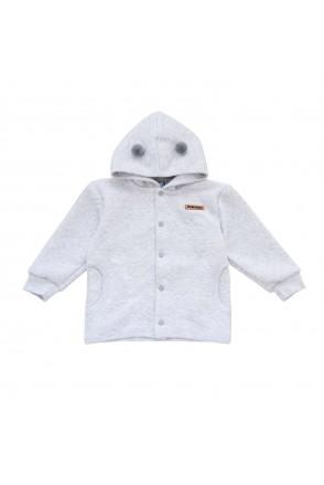 Курточка для детей Minikin арт. 2016512 серый меланж