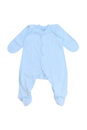 Детский комбинезон Minikin арт. 213503 голубой
