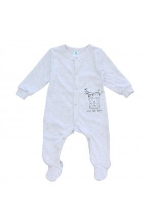 Комбинезон для детей Minikin арт. 215503 серый/меланж