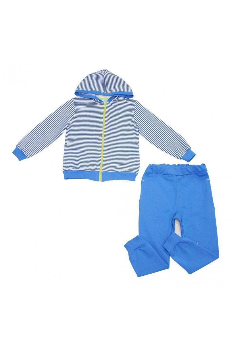 Спортивный костюм для детей Minikin арт. 177207 синий