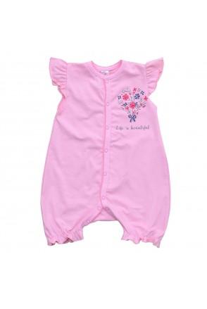 Напівкомбінезон дитячий Minikin 203502 рожевий