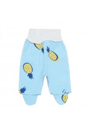 Ползунки для детей Minikin арт. 2010303 голубой/голубая полоска