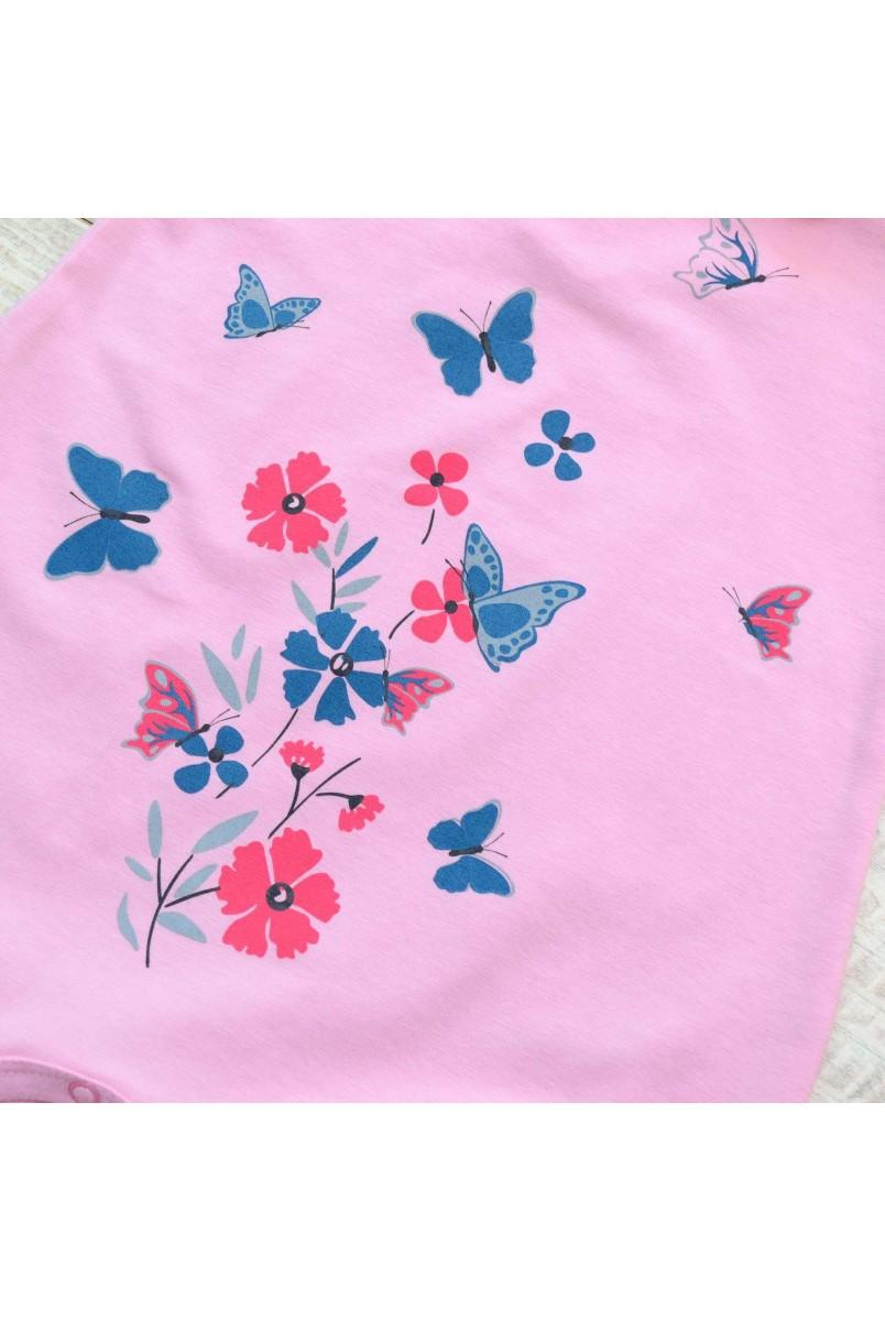 Полукомбинезон детский Minikin 203502 розовый