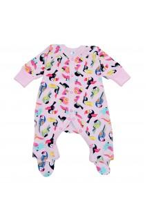 Дитячий комбінезон Minikin арт. 213002 рожевий