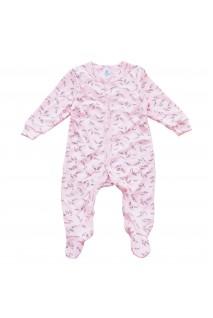 Комбінезон для дітей арт. Minikin 00403 рожевий/сірий