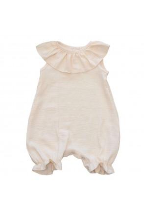 Полукомбинезон детский муслиновый Minikin 2010514 молочный