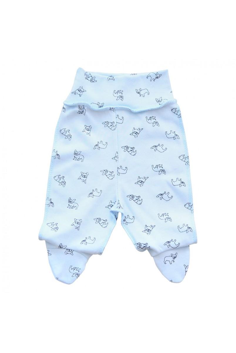 Ползунки для детей Minikin арт. 00903 голубой собачка