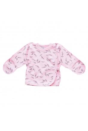 Распашонка для детей Minikin арт. 00803 розовый/серый