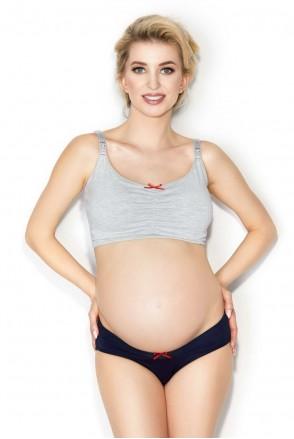 Бюстгальтер soft Easy grey для беременных и кормления