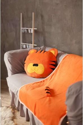 """Комплект плед + подушка """"Тигр"""""""