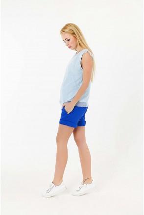 Шорти для вагітних To be 668068 синій