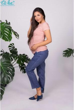 Штани для вагітних To be 667439-1 синьо-блакитний