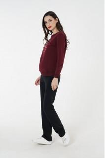 Спортивні штани 4051350 чорні для вагітних