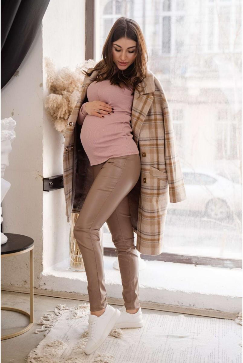 Легінси 4221216-4 візон Для вагітних