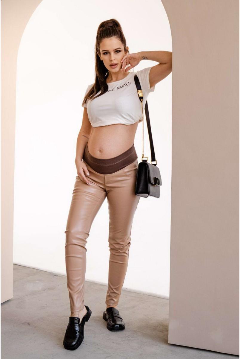 Легінси 4221216-5 кремовий для вагітних