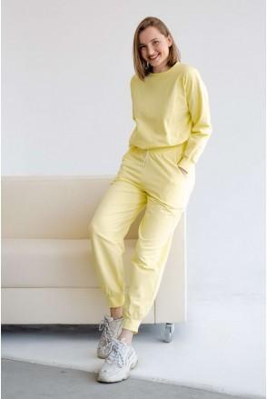 Спортивный костюм 4301262 лимонный для беременных и кормления