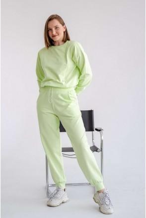 Спортивный костюм 4301262 мятный для беременных и кормления