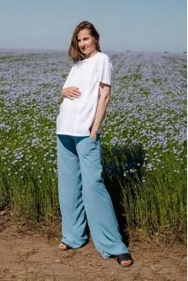 Брюки для беременных To be 4247752 серо-голубой
